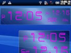 Pit Signboard Clock 1.0.1 Screenshot