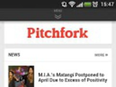 Pitchfork Mobile FREE 1.2 Screenshot