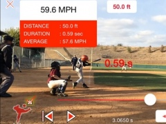 Pitchman Radar Gun 2.2 Screenshot