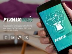 PixMix Magic-Photo Video Maker 1.3 Screenshot