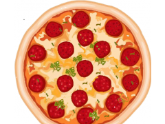 Pizza Slicer, the cutter 1.1.8 Screenshot