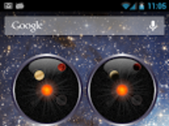 Planet Analog Clock Free 2.0.1 Screenshot