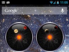 Planet Analog Clock Widget 2.0.2 Screenshot