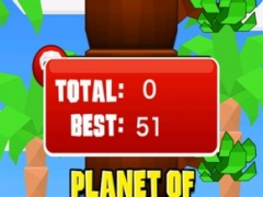 Planet of Climbing Apes - Climb and Avoid the Branches 1.0.1 Screenshot