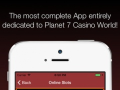 Planet7 Casino online Games best Reviews 1.2 Screenshot