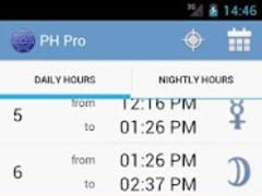 Planetary Hours Pro 2.0.1 Screenshot