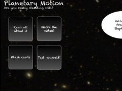 Planetary Motion 1.0 Screenshot