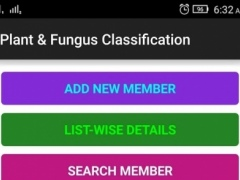 Plant & Fungus Classification  Screenshot