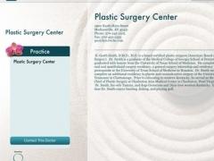 Plastic Surgery Center for iPad 2.0 Screenshot