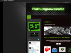 Platinum Grooves Radio 1.0 Screenshot