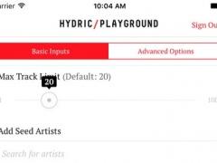 Playlist Playground - create playlists for Spotify 1.0 Screenshot