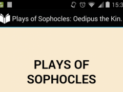 Plays of Sophocles 5.0 Screenshot