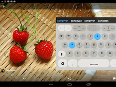 Javanese Keyboard plugin 1.0 Screenshot