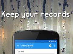 Pluviometer 1.1 Screenshot