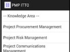 PMP ITTO Pro 1.2 Screenshot