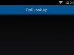 PNG Roll Lookup  Screenshot