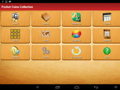 Pocket Coins Collection Lite 4.4 Screenshot
