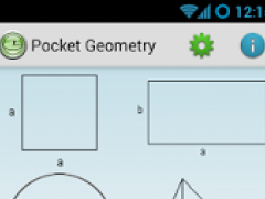 Pocket Geometry Free 2.5.0 Screenshot