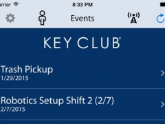 Pocket Key Club for Dulaney High School 2.1 Screenshot