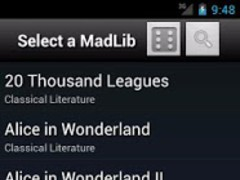 Pocket MadLibs 1.2.2 Screenshot
