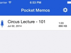 Pocket Memos 1.0.0 Screenshot