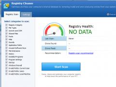 Pointstone Registry Cleaner 4.20 Screenshot
