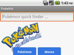 PokéList 1.2 Screenshot