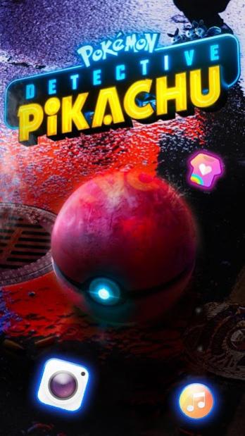 Pokémon Detective Pikachu Launcher Free Download