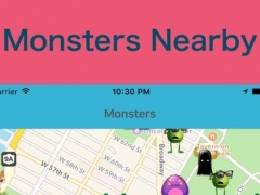 Poke Monitor - show monsters nearby on map 1.0 Screenshot
