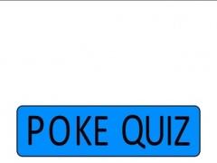 Poke quiz! 1.0 Screenshot