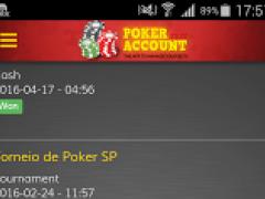 Poker Account Free (EN) 1.1.6 Screenshot