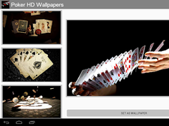 Poker HD wallpapers 2.0 Screenshot
