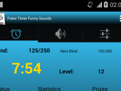 Poker Timer Funny Sounds 1.1 Screenshot