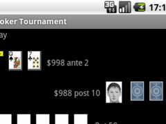 Poker Tournament 1.0 Screenshot