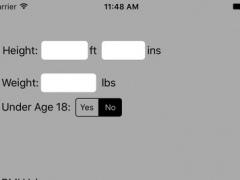 Polar BMI Free 2.4 Screenshot