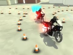Police Bike Training Academy 1.0 Screenshot