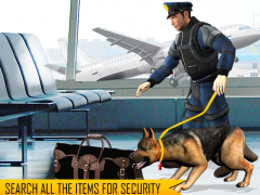 Police Dog Airport Crime City 1.5 Screenshot