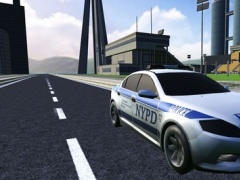 Police Flying Car 3D Driving Simulator -Extreme Car Helicopter 1.1 Screenshot
