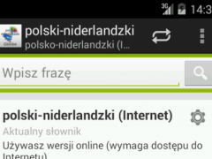 Polish-Dutch Dictionary 2.1.7 Screenshot