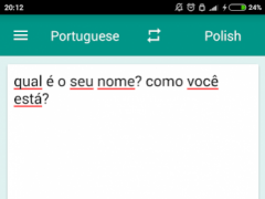 Polish-Portuguese Translator 1.7.2 Screenshot