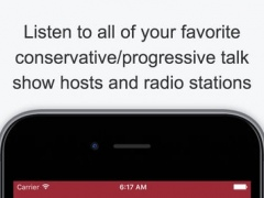 Political Talk Radio (Extra Stations) - Live Conservative and Progressive Talk Shows / Radio 1.0 Screenshot