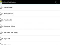 Political Talk Radio 1.0 Screenshot
