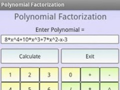 Polynomial Factorization Pro 1.0 Screenshot