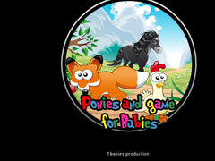 Ponies and games for babies  Screenshot