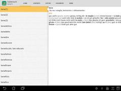 PONS STANDARD German Italian 4.3.056 Screenshot