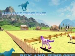 Pony Horse Kids Race 1.0 Screenshot