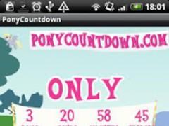 PonyCountdown 2.0 Screenshot