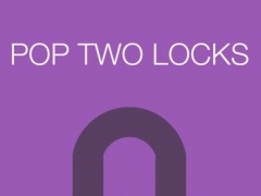 Pop Two Locks Endless - Test Your Reflex By Simple Single Tap Arcade Game 3.0 Screenshot