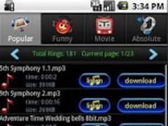 Popular Sound Ringtone 1.06 Screenshot