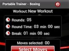 Portable Trainer - Boxing Lite 1.3 Screenshot